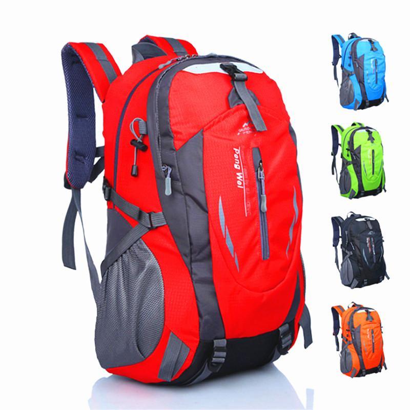 df45266f9bc1 45L Outdoor Camping Hiking Backpacks Waterproof Nylon Travel Backpack Large  Capacity Movement Rucksack Laptop Functional Bags Cool Backpacks Travel  Backpack ...