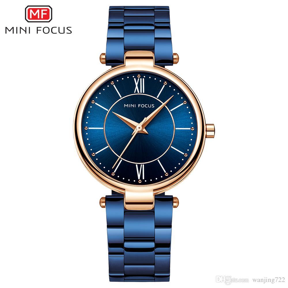 5ffecdf378c MINIFOCUS Fashion Women S Watches Ladies Luxury Quartz Watches Bracelet  Clock Stainless Steel Women S Wrist Watch Relogio Feminino Discount Watches  ...