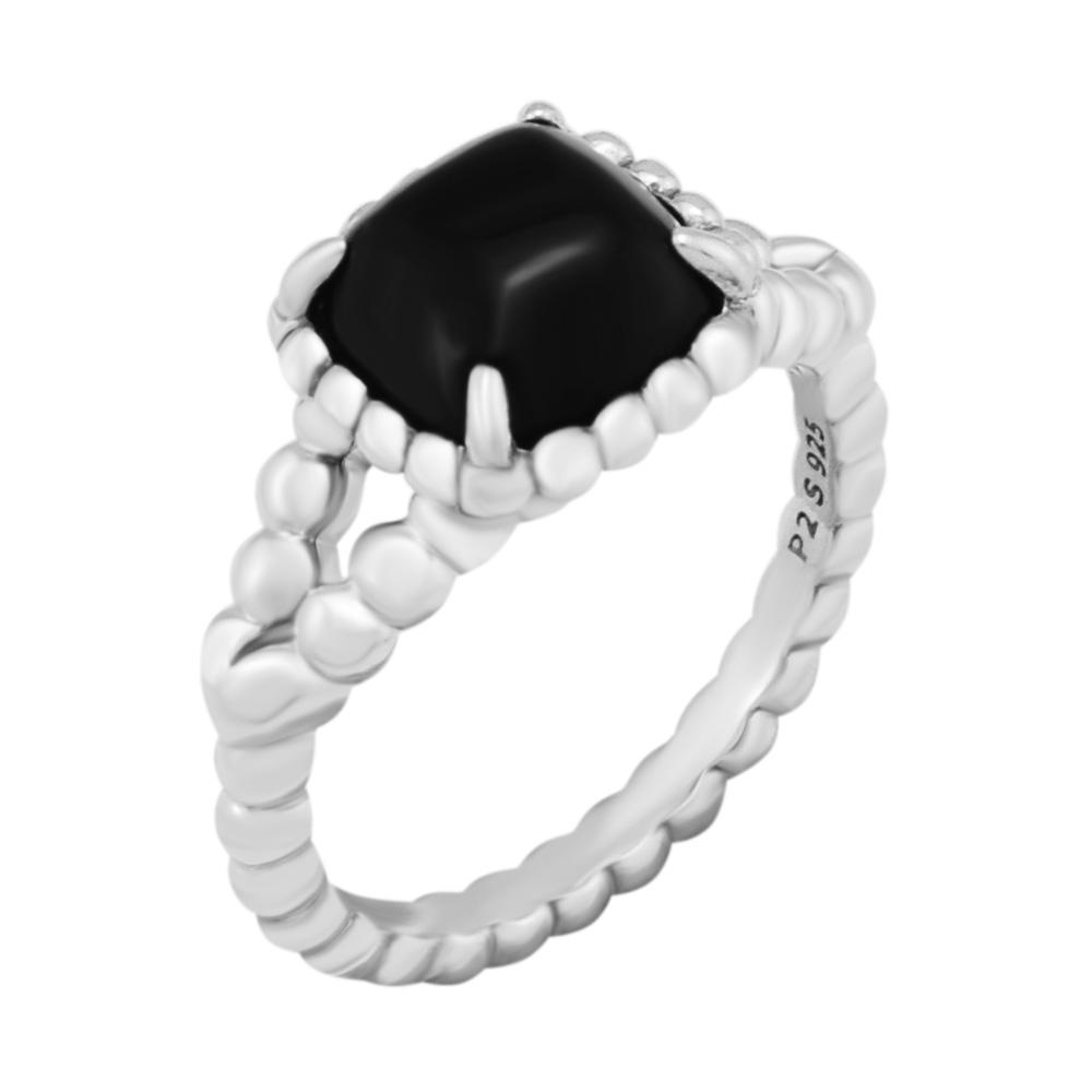 a8b50abd0 2019 CKK 925 Sterling Silver Vibrant Spirit Ring, Black Crystal For Women  Original Jewelry Making Anniversary Gift From Weichengz, $31.23 | DHgate.Com