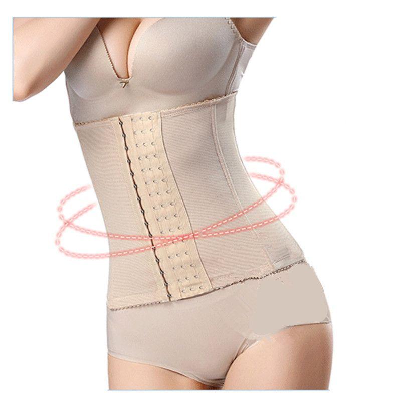 5e8eee9e740 2019 Women Waist Slimming Belts Wide Hooks Body Shaper Belly Trimmer  Control Waist Cinchers Corsets Fitness Shapers Back Brace Fajas From  Csg201