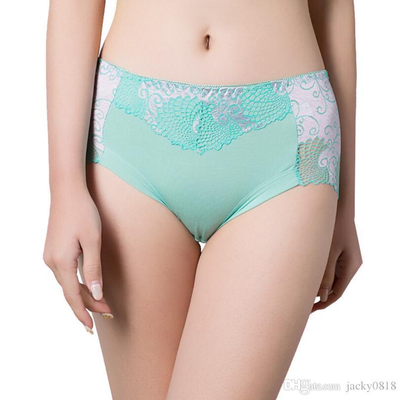 906a789306a 2018 Women underwear briefs sexy women s Panties full transparent lace  seamless string plus size women underwear panty