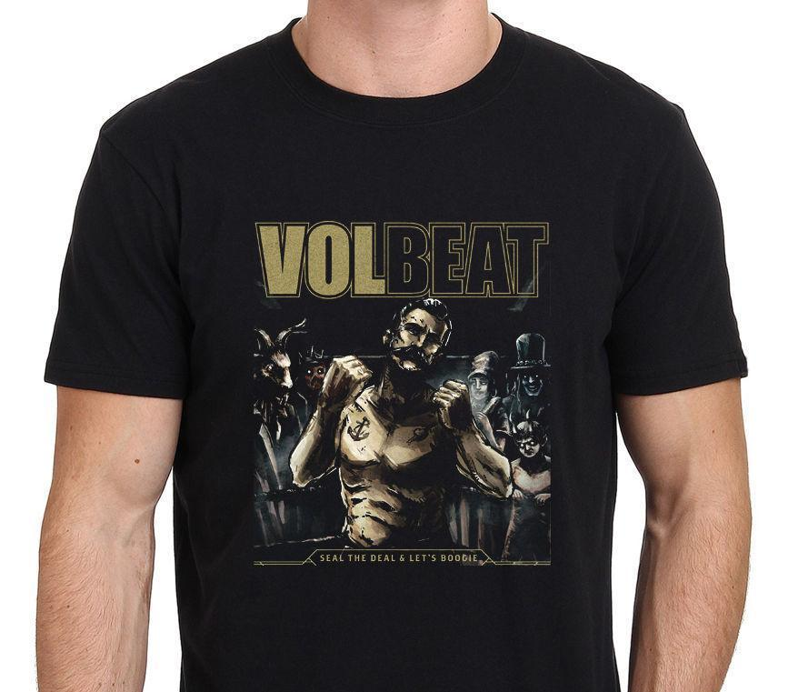 Volbeat Seal The Deal and Lets Boogie Men's T-Shirt Size: S-to-3xl Pride of  The Creature T-Shirts T Shirt Homme 2018 New