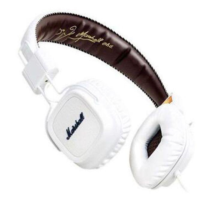 마샬 메이저 헤드폰 마이크 딥베이스 DJ Hi-Fi 헤드폰 헤드셋 아이폰 X 8 용 전문 DJ 모니터 헤드폰 이어폰 Note8 S9 +