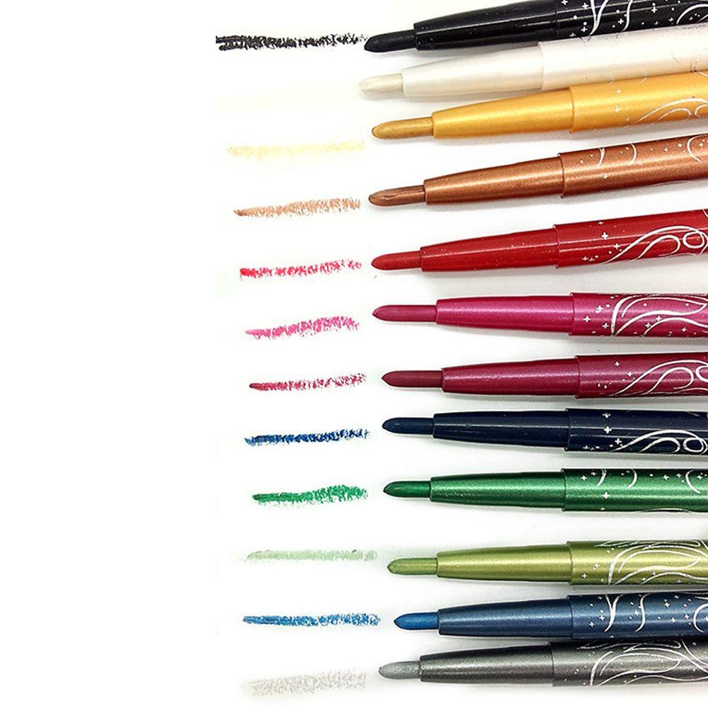 MENOW Brand Auto-rotate Eyeliner Pen Eye Shaow Pencil Makeup Set Waterproof Long Lasting Eye Liner Eyeshadow Fashion Cosmetics