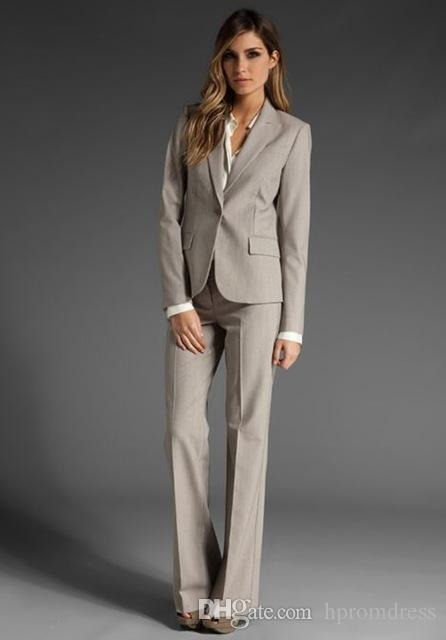 db077eeb8c2 Women Business Suits Custom Made Formal Office Pants Suits Work Wear Set  One Button Uniform Designs Suit Mathar Son Mother Of The Groom Suit From  Hpromdress ...