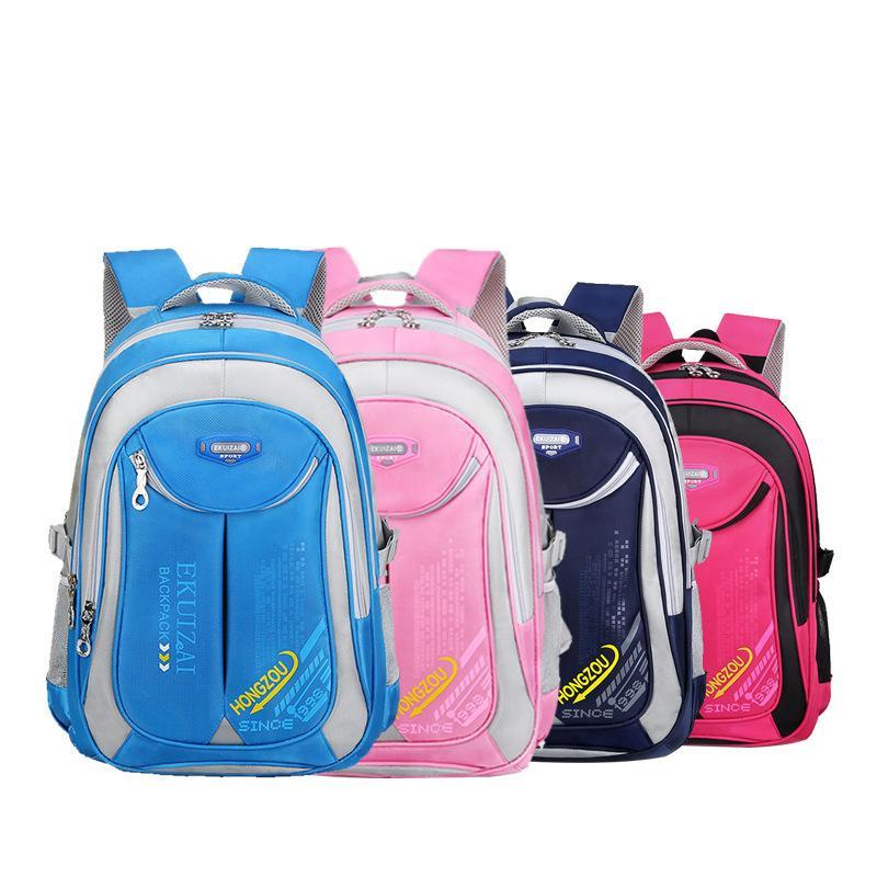 New Children School Bags High Quality Nylon Backpacks Lighten Burden ... f3b86190f467a