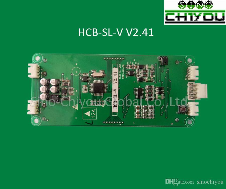 Parti dell'elevatore SJEC Display LCD COP LOP HCB-SL-V V2.41./2.42 indicatore originale