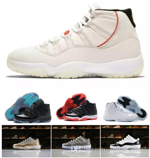 abe906d4dbf7ff New Best 11 Basketball Shoes Designer Gamma Blue Bred Concord Platinum Tint  Infrared Georgetown 11s XI Women Mens Shoes Sneakers With Box Sneakers For  Men ...