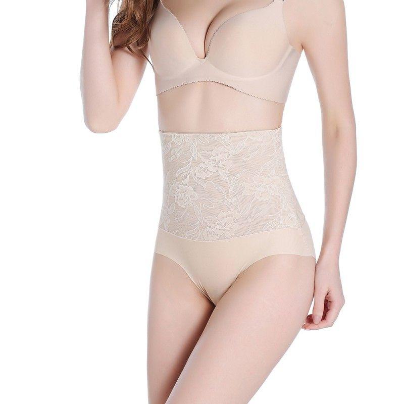 f88c40cb68ee Size L-XXL Women Jacquard High Waist Shapers Butt Lifter Control ...