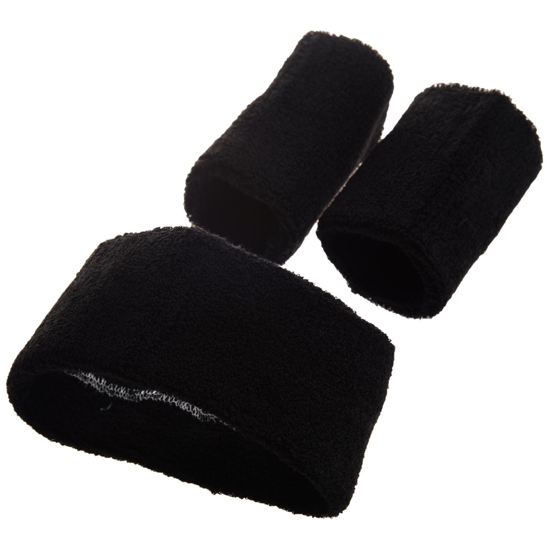 2019 Sale Black Retro 80S Head Wrist Sweatband Set From Lianqiao 3315