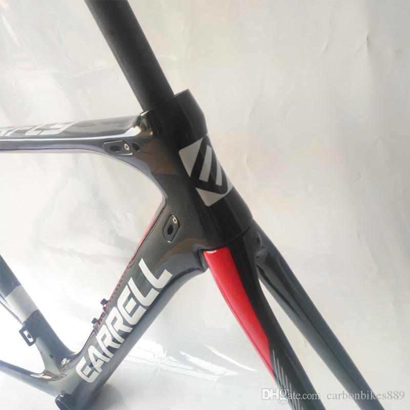2018 NEW EARRELL carbon road frame 700C ultra light road bicycle frame.D12 carbon bike frames