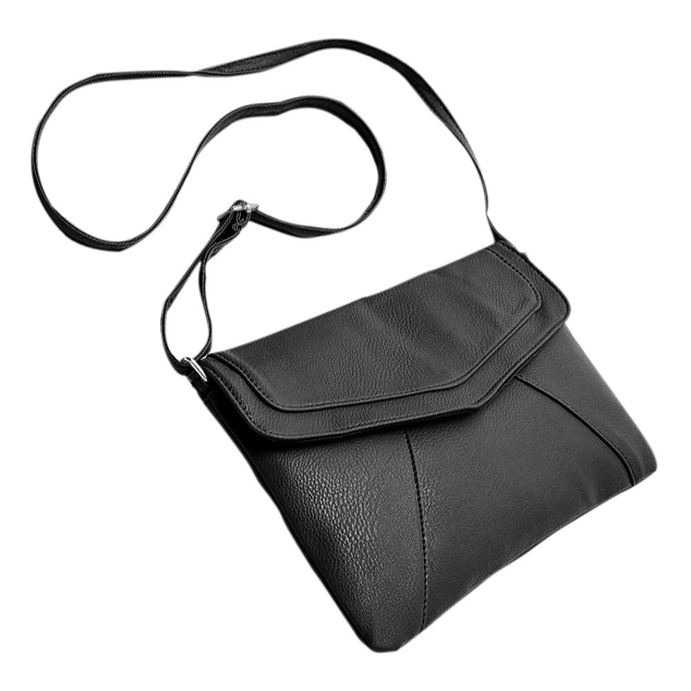 261afa8a7968 Fashion Women S Envelope Bag Leather Messenger Bags Handbag Shoulder  Crossbody Cross Body Bags Purses Satchels Bolsas Black Designer Handbags On  Sale ...