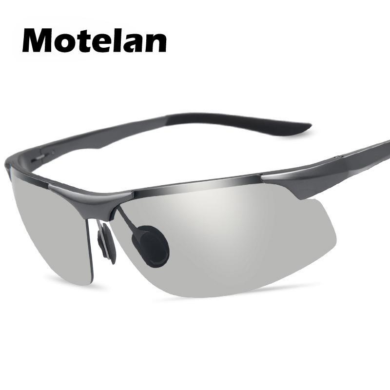 9263af0512 New Men s Photochromic Polarized Aluminum Magnesium Alloy Frame ...