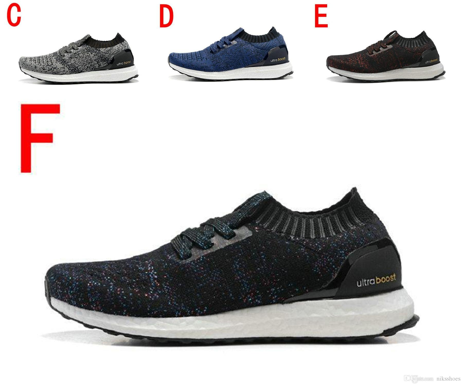 2018 New ACE Ultra Boost sock without shoelace running shoes black ash YB1688 Sport Sneaker cheap best sale apZO27Yt