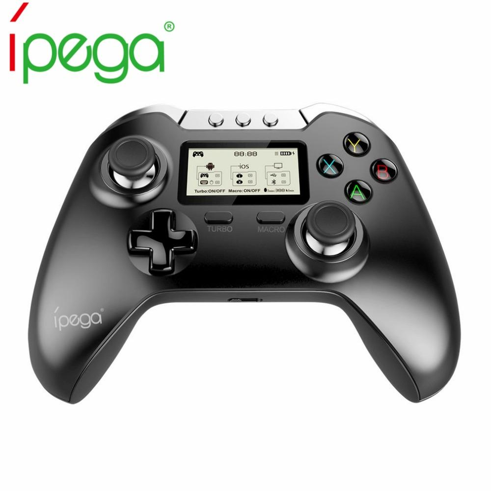iPega PG 9063 Wireless Bluetooth Joystick Android Smart TV Box Gamepad Gaming Controller Game Pad For iPhone Xiaomi Phone PC