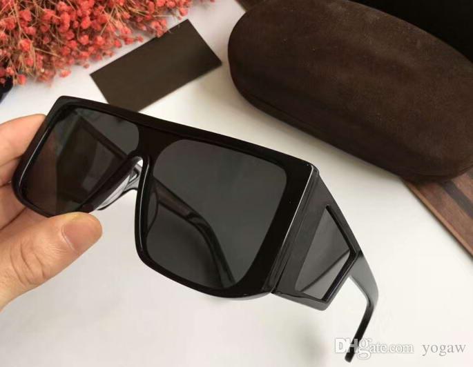 cdb53cb8cf Compre Spector Ft0710 Gafas De Sol Con Brillo / Gafas De Sol Negras De  Diseño Nuevo Con Estuche A $62.44 Del Yogaw | DHgate.Com