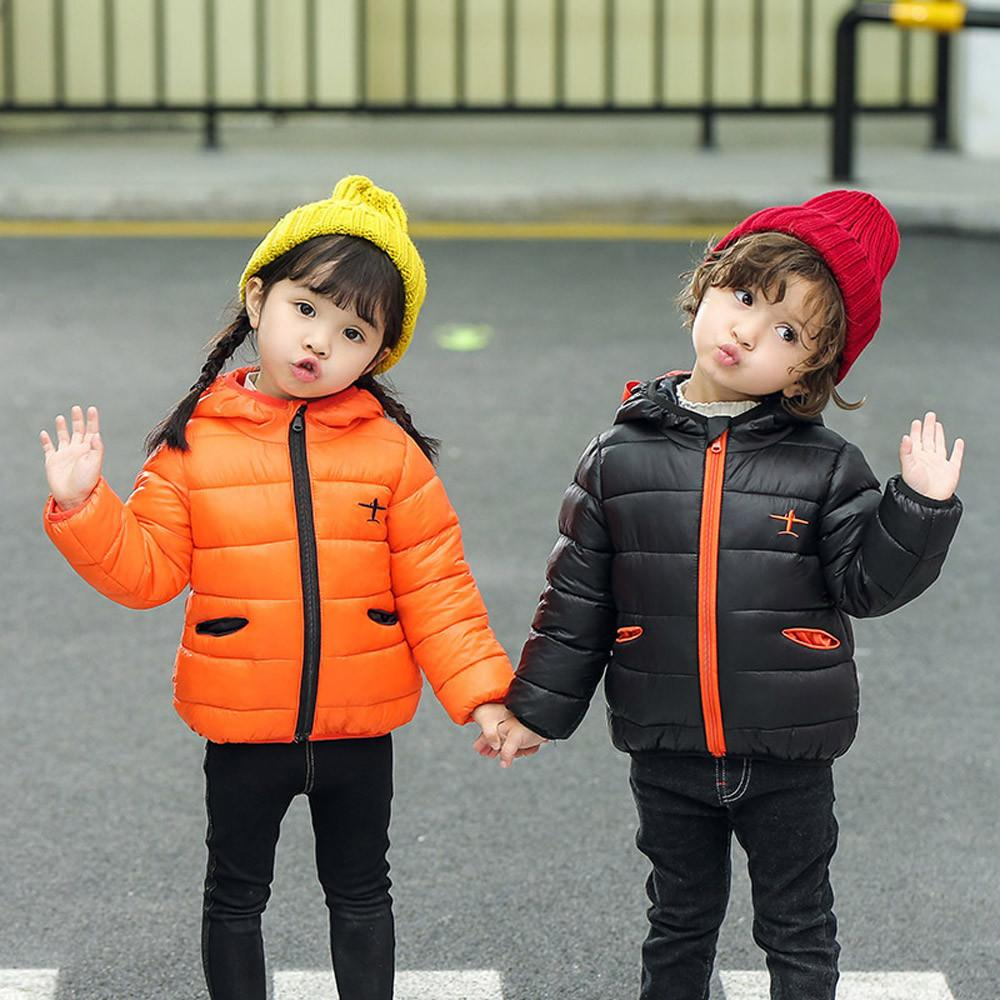 d97a51c44 Kids Jackets Hoodies Baby Girl Boy Hooded Coat Plane Cartoon Jacket ...