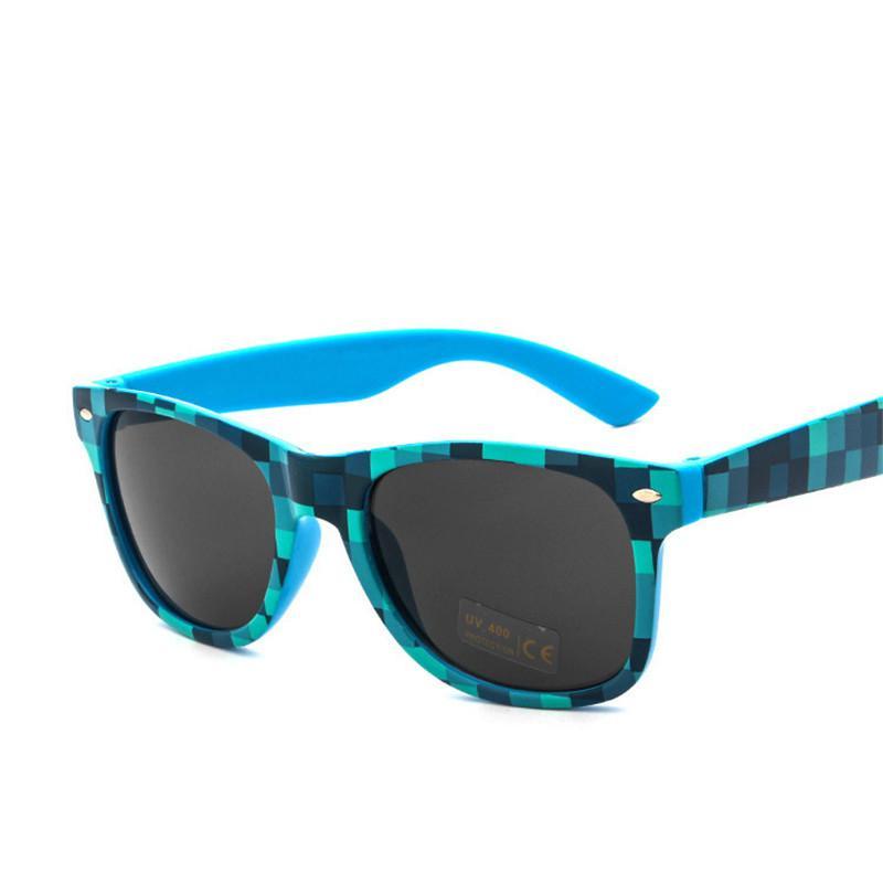 b5f6e2b673 Compre Vazrobe Plaid Para Hombre Gafas De Sol Mujeres Niños Gafas De Sol  Para Hombre Cuadrado Clásico Barato Al Por Mayor A $20.33 Del Gocan |  DHgate.Com