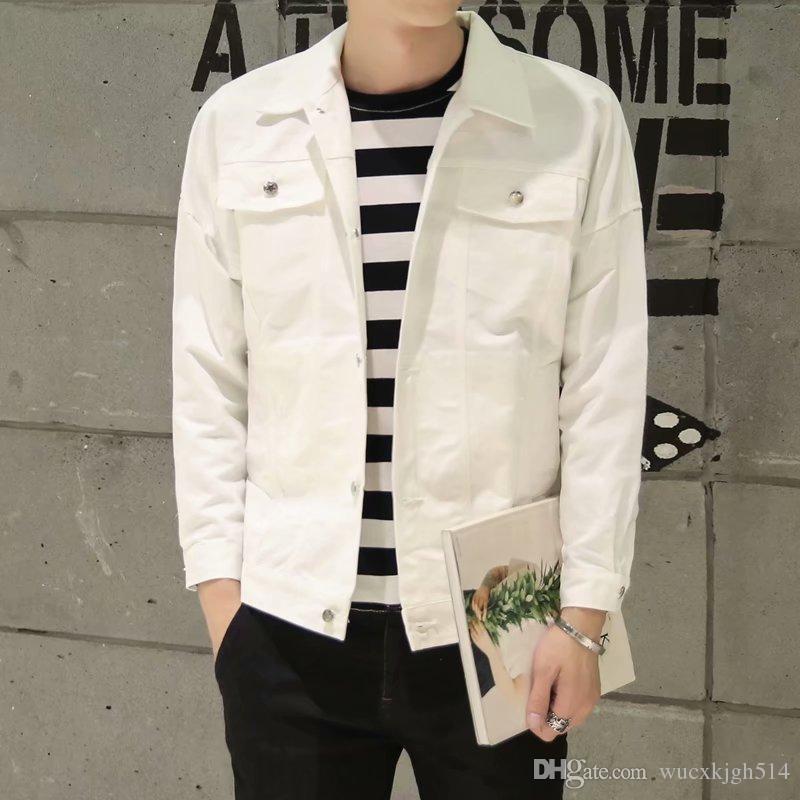 Acquista Primavera E Autunno Moda Nuovi Ragazzi Gioventù Moda Slim Giacca Di  Colore Solido Top 2018 Coreano New Trend Mens Cappotto 5242 A  26.4 Dal ... 5e1c56e9c79