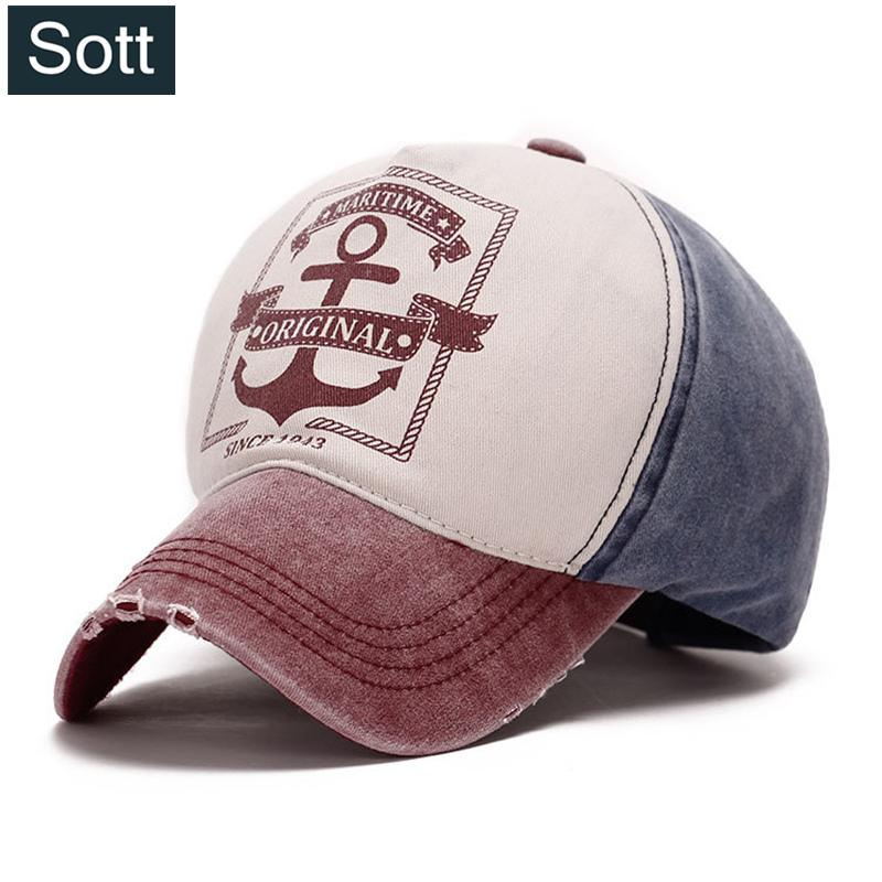 86ad0c4606747 SOTT High Quality Cotton Cap Fashion Baseball Cap Grinding Multicolor  Snapback Hat Men Women Casquette Pattern B 0050 Flat Brim Hats Baby Cap  From ...