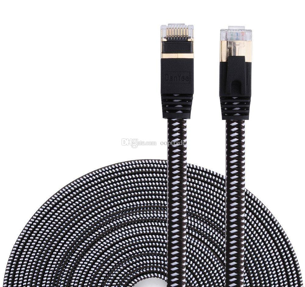 Peachy Cat 7 Ethernet Cable Nylon Braided 3Ft Cat7 High Speed Professional Wiring 101 Tzicihahutechinfo