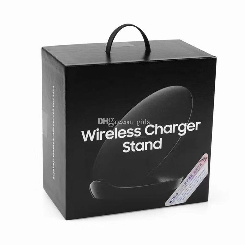 Chargeur rapide vertical Chargeur universel sans fil chargeur de plaque de support pour dock Samsung Galaxy S6 Edge S7 Plus S8 Plus Note 5 iPhone
