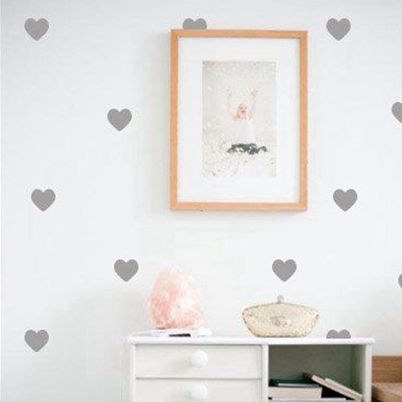 Satın Al Sticker Diecut Mini Kalpler Duvar çıkartmaları Küçük