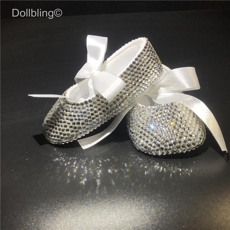 Rhinestones DMC Most Sparkle Glitter Shoes Slippers Baby Shoes Girl Crystal  Rhinestone Star Bling Party Show 0 6 Ballerinas UK 2019 From Beasy 78ac9fa404de