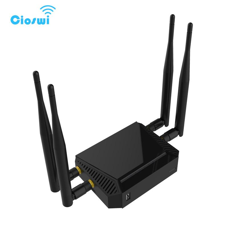 Cioswi WE3926 outdoor wifi access point mobile wifi router with sim card  slot 300mbps 4 external antenna usb router