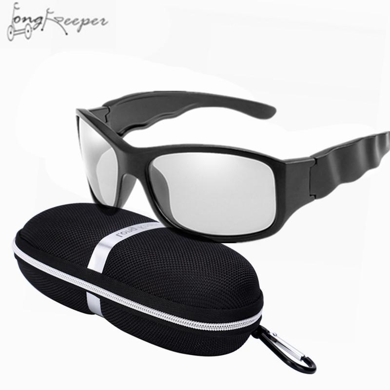 d8da4dac1b Ciclismo Gafas De Sol Fotocrómicas Polarizadas Con Lentes De Camaleón De  Conducción Deportiva Para Mujeres Hombres Ola Gafas De Montura De Gran  Tamaño Con ...