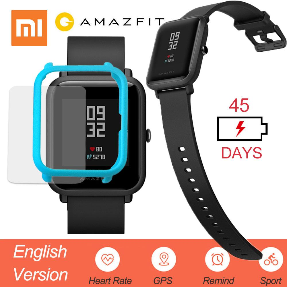 Wholesale Mi Huami Amazfit Bip Smart Watch English Version Xiaomi Smartwatch Youth Edition Lite Ip68 Gps Heart Rate 45 Days Standby Pebble Reviews