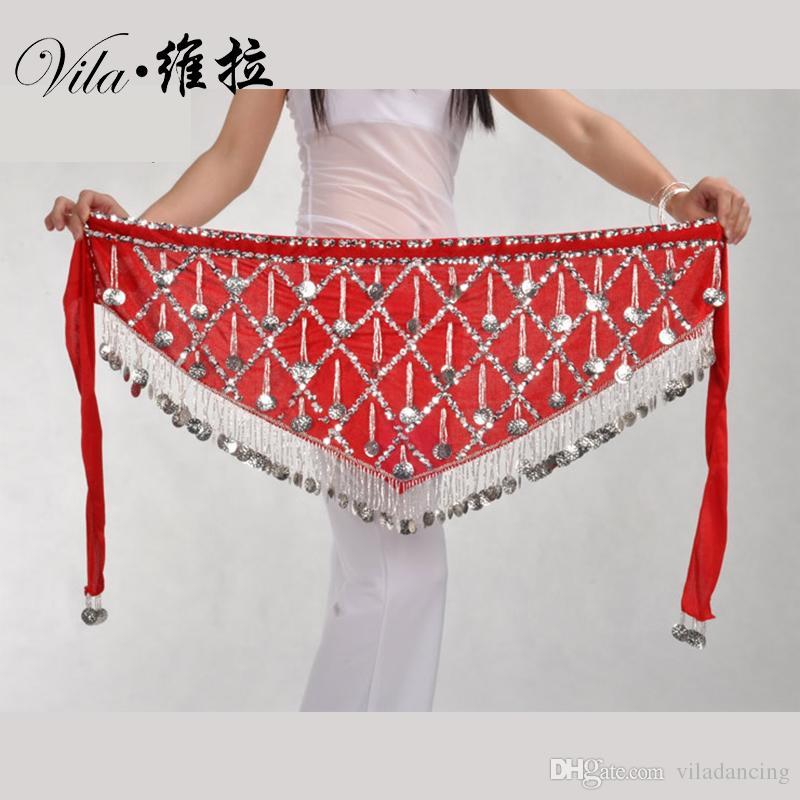 L'ultimo della pancia della cinghia del ventre egiziana catene di ballo pancia della vita di ballo hip sciarpa catena di danza in vita