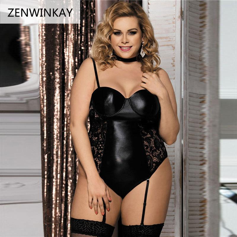 389cdfff2 Women Lingerie Hot Sexy Lingerie Black Lace Erotic Apparel Lenceria  Babydoll Female Sex Underwear Sleepwear Costumes Plus Size D18110902 Silk  Pajamas Sets ...