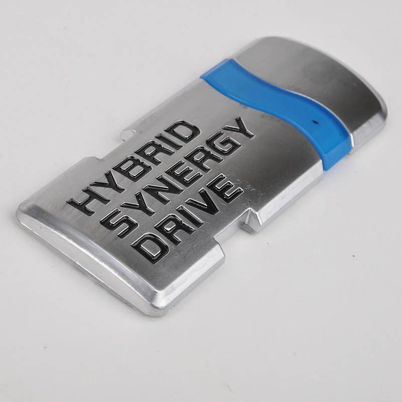 Carro-Styling 3D de Alta Qualidade ABS HÍBRIDO SÍRIA DRY Emblema Emblema Do Carro Do Carro Auto Adesivo Decalque para Toyota Honda