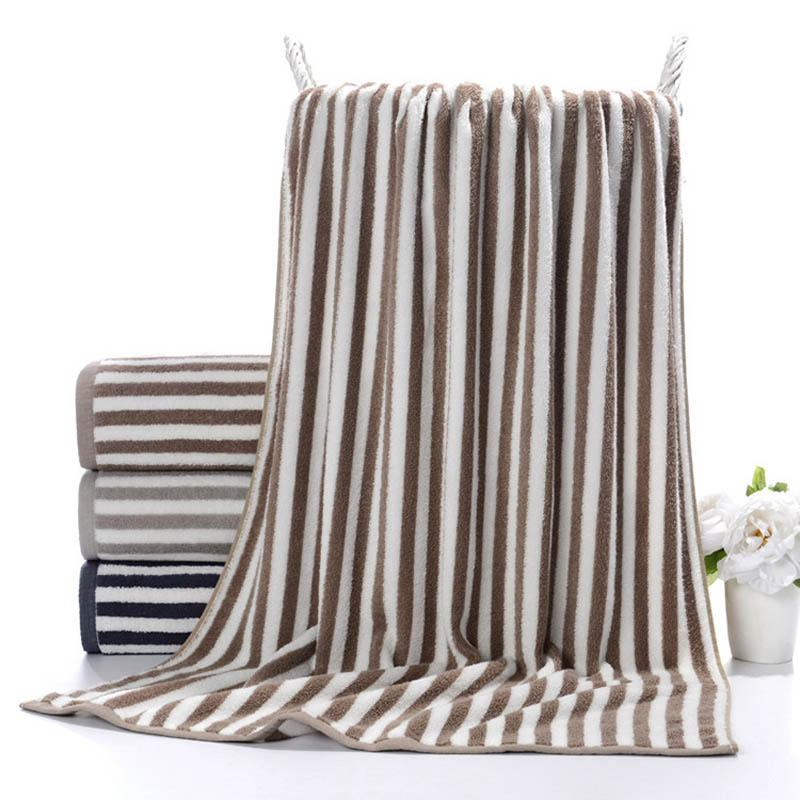 Large Thick Solid Color Bath Towel For Adults Soft Super Absorbent