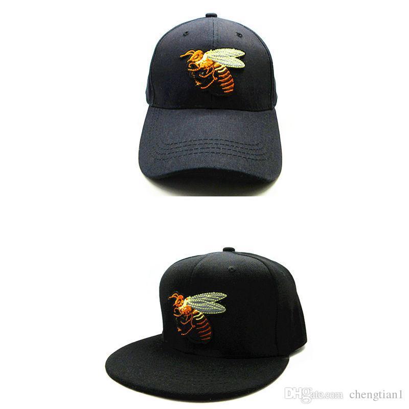 42c6af3d720 LDSLYJR 2018 Bee Embroidery Cotton Baseball Cap Hip-hop Cap Adjustable Snapback  Hats for Kids And Adult Size 28 Baseball Cap Hip-hop Cap Snapback Cap  Online ...