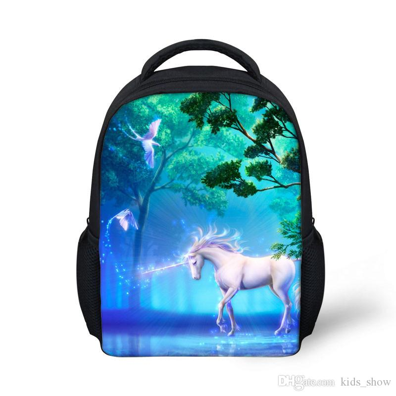 Zipper Cartoon Travel School Bags Cute Design Kids Unicorn School Bags Baby  Shoulders Bags Kindergarten Backpacks Lightweight Backpack Outdoor Backpacks  ... 68f2f248bea3b