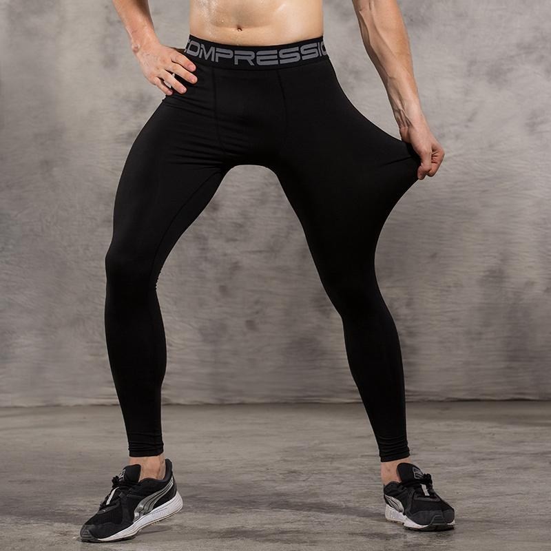 024c8484b8 2019 Vansydical Mens Compression Tights Skin Pants Running Jogging Jogger  Fitness Exercise Gym Athletic Long Pant Spandex Quick Dry From Ranshu, ...