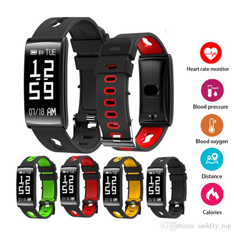 fitness watches pin wristband watch smart tracker wireless bracelet activity bitwatch and