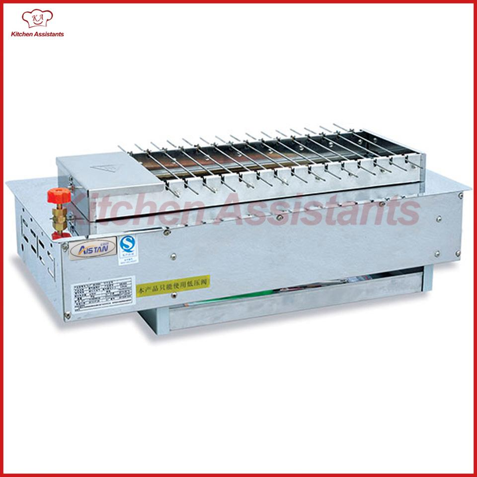 EB700 Electric Conveyor Smokeless Barbecue Oven Bbq Grill Electric ...