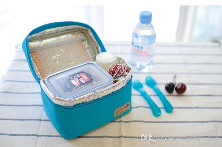 Practical Small Portable Ice Bags Waterproof Cooler Bag Lunch Leisure Picnic Packet Bento Box Food Thermal Bag