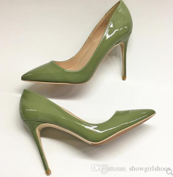 2018 Vestir Boda Rojas Bombas Tacones De Glitter Zapatos Verdes Tacón De De Bombas Compre Altos Delgado Inferiores De Charol Fiesta Zapatos Mujer Zapatos dBHw6tqa