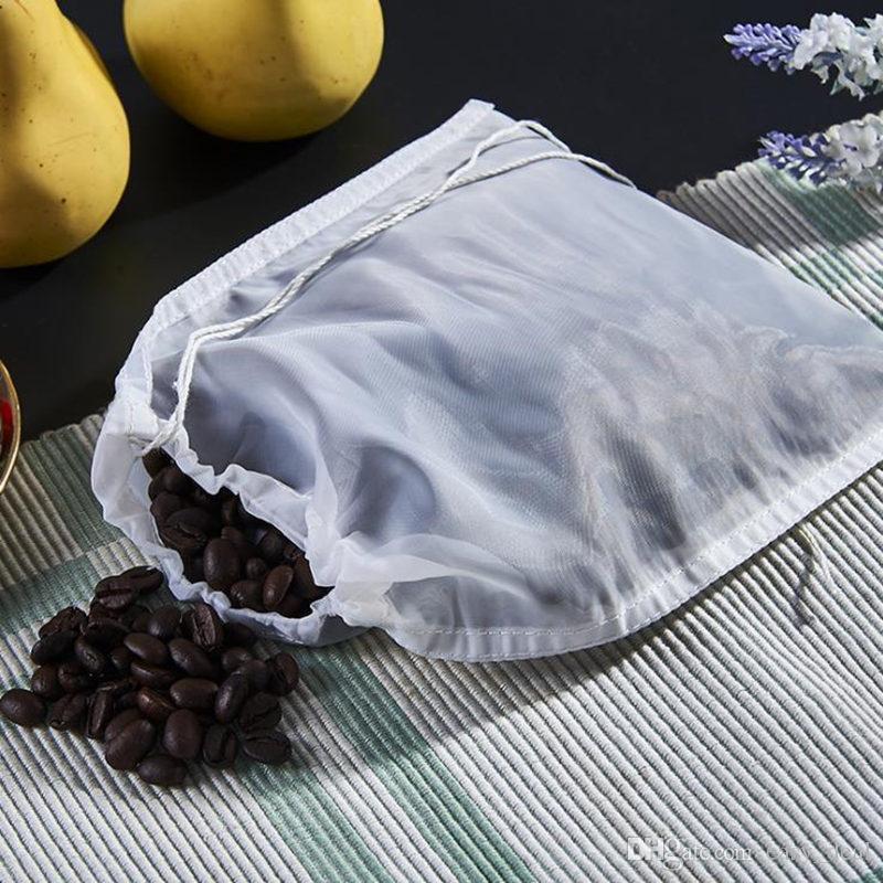 Nylon Sieb Filterbeutel Nylon Mesh Net Belastung für Mutter Milch Hopfen Tee Brauen Hause Wein Bier Bar Werkzeuge F20173324