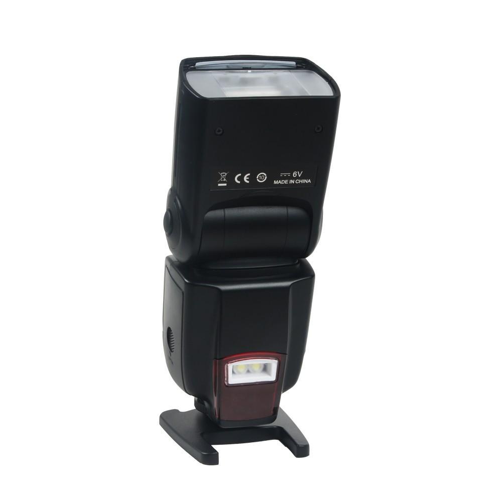 Lightdow WANSEN WS-560 ضوء فلاش LED Speedlite لنيكون D3100 D3200 D5000 D5100 D5200 D7100 كانون أوليمبوس بنتاكس العالمي نموذج