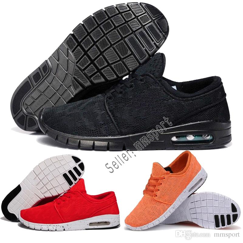 30887cafb82 2018 Cheap Men Women Fashion SB Stefan Janoski Mesh Jogging Shoes ...