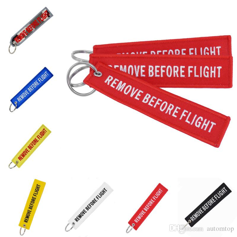 7cbe68dc0f Free DHL 7 Styles Streamer Key Chain Remove Before Flight Keychain Ring for  Aviation Gifts KeyRing Jewelry For Women   Men Gift G98Q Key Chain REMOVE  BEFORE ...