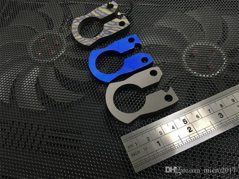Çok fonksiyonlu Titanyum açacağı Aracı Açık Bıçak EDC Açık Survival Kamp Avcılık Bıçak Balıkçılık Ücretsiz Nakliye Mücadele