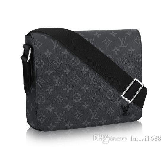 DISTRICT PM High End Quality Famous Classic Designer HOT Fashion Men Messenger  Bags Cross Body Bag School Bookbag WOMEN Shoulder Bag 53492 Briefcase ... 56a78e284ddb9