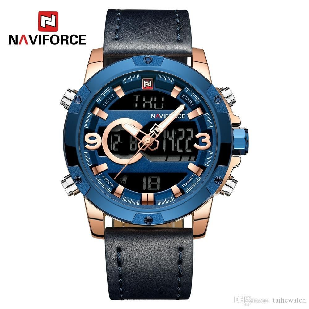 f065a29d777b NAVIFORCE Mens Sport Watches Men Top Luxury Brand Quartz Digital ...