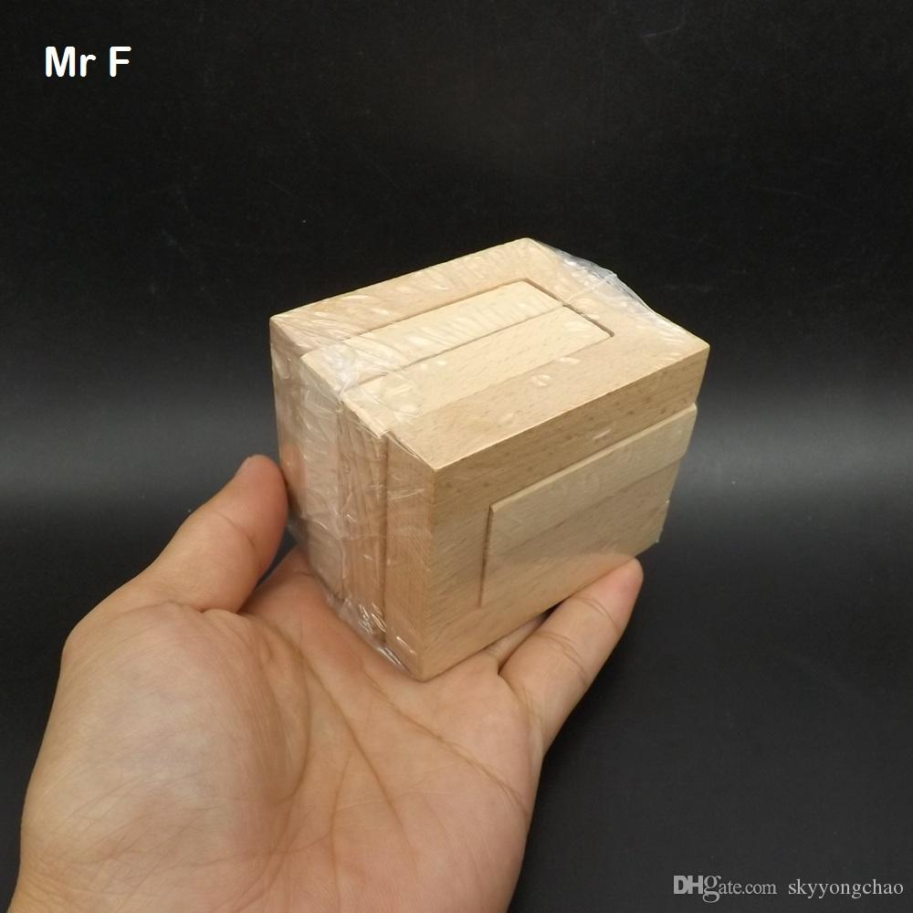 2019 Wooden Cube Hug By Hug Puzzle Solution Brian Teaser Mind Gadget